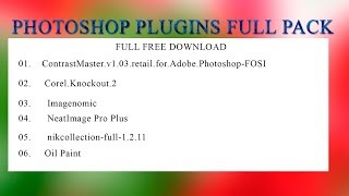 Photoshop Plugins Full Pack Free Download 01 By Lucky Studio