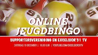 Screenshot van video Online JeugdBingo Excelsior'31   Supportersvereniging en Excelsior'31 TV