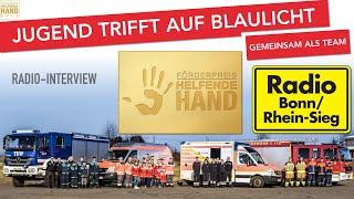 [JtaB] Interview bei Radio Bonn/Rhein-Sieg | Jugend trifft auf Blaulicht | Bornheim