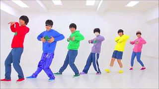 Osomatsu-san OP1 and ED1 Dance [Mirrored]