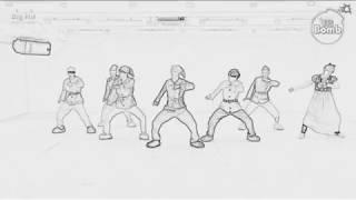 I put Outro: Tear over BTS choreography