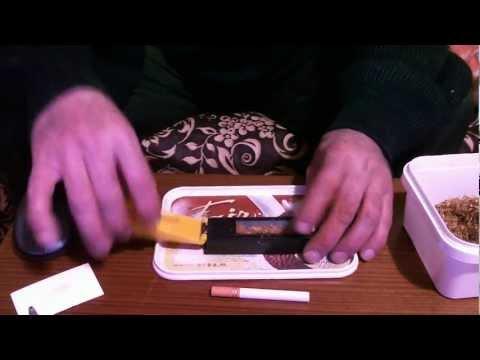 Kalem ile tütün sarma
