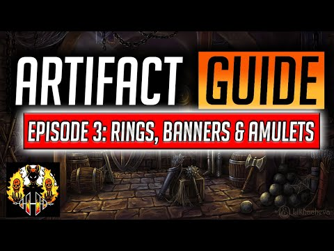 RAID: Shadow Legends | Gear & Artifact Guide, Episode 3: Jewellery - How to cleanse, what to keep?