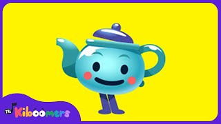 I'm a Little Teapot | Action Songs for Children | The Kiboomers