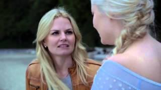 Once upon a time. Elsa y Ana se reencuentran en español