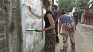 Vocal Livre Brazil continue painting Tanjung Barat Adventist Academy