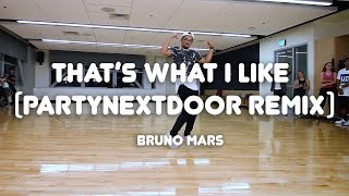 That's What I Like (PARTYNEXTDOOR Remix) - Bruno Mars | Allister Magalued Choreography