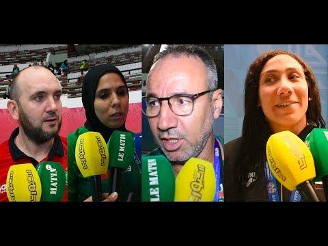 Video : Jeux Africains 2019 : la natation et le handball au menu de la journée de mercredi