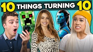 College Kids React To 10 Things Turning 10 In 2019
