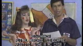 Belinda en el Taller de los Muñecos 1990 Monterrey N.L