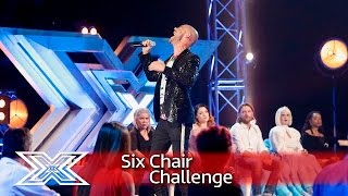 Christopher Peyton fights for survival | Six Chair Challenge | The X Factor 2016