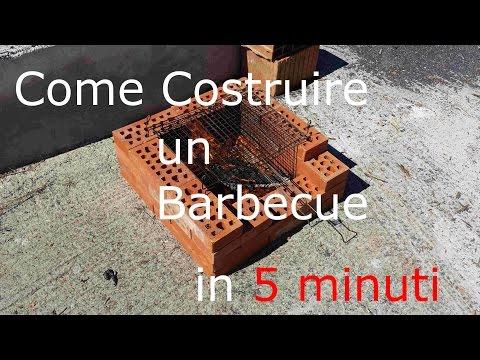 Come fare un barbecue con materiali di riciclo fai da te for Come costruire un camino di adobe