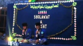 "Lomba Sholawat PP. An-Nur Putra Dalam Rangka ""SEMINUR yang Ke 4"""