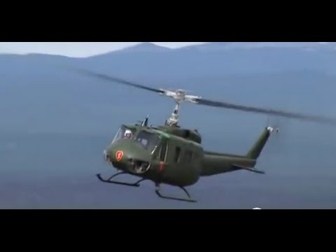 25th Huey Helicopter