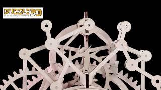 Horloge de salon Puzzle 3D