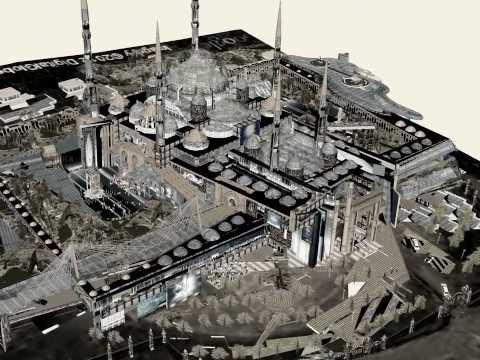 Istanbul'a göz kamaştıran bir Cami (DUYURUN!), Çamlıca Cam Camii projesi-Mosque-Masjid