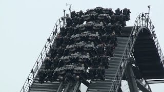 The Swarm Off Ride at Thorpe Park (full HD)