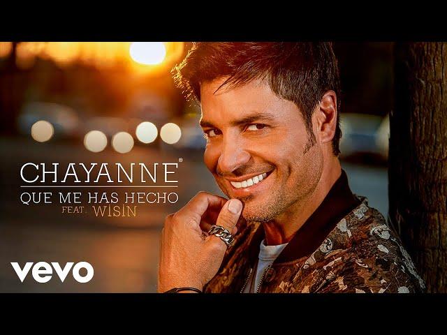 Audio de Chayanne - Qué Me Has Hecho (Audio) con Wisin