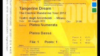 Tangerine Dream. The Electric Mandarine Tour. 2012.