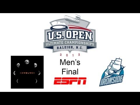 Video Thumbnail: 2013 U.S. Open Club Championships, Men's Final: San Francisco Revolver vs. Boston Ironside