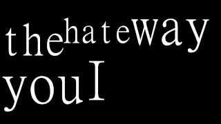 Hale - The Waltz (Typography)