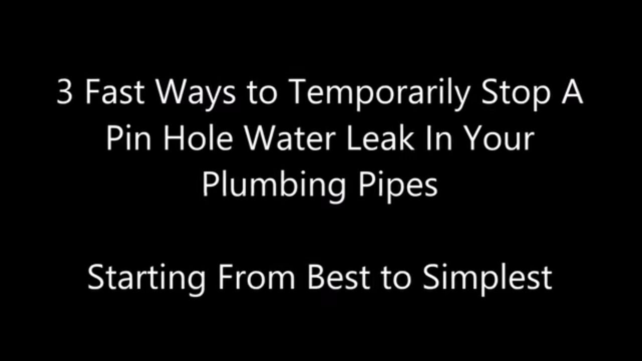 24 Hour Emergency Plumber Milford Tx