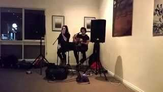 "NeuMark & Victoria Wallace ""Let It Go"" (James Bay Cover) Live @ SnowWave Bonnie Bar 2/8/15"