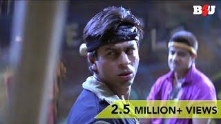 Shahrukh Khan & Sharad Kapoor Epic Fight Scene    Josh   Aishwarya Rai   FULL HD 1080p width=