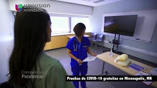 Pruebas de COVID-19 gratuitas en Minneapolis, MN