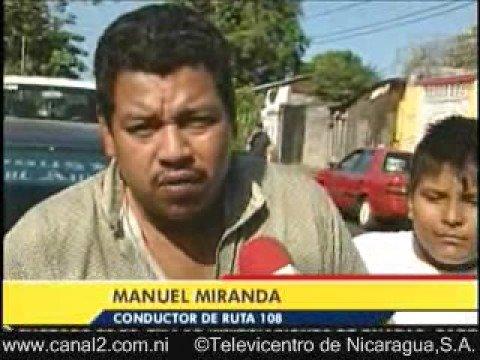 Muere Joven atropellado en Managua Nicaragua