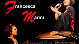 """Francesca Marini - """"Maria Lisboa"""" - (Amalia Rodriguez COVER)"""