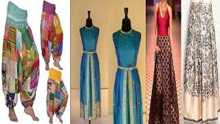 मम्मी की सिल्क की साड़ियों से बनाए ये ड्रेसेस|Silk Saree Used For Dresses