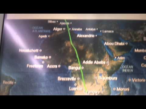 Vol AF990 A380 Paris Johannesburg 01/03/2012