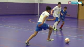 Equipa de Iniciados do Futsal do GD Gafanha 16/17