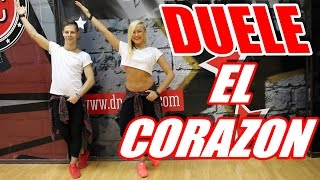 DUELE EL CORAZON - ENRIQUE IGLESIAS - ZUMBA FITNESS   #ZUMBA #ZUMBAFITNESS #DANCE #DANCEFITNESS