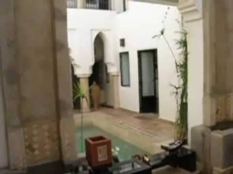 Mi hospedaje en Marrakesh, Marruecos