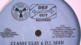 Classy Clay & Dj Man - Let's Groove (Instrumental)