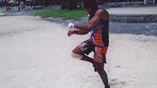 MMA TRAINING AT AZHIKAL BEACH TEAM BTFC SONY SOMAN KRISHNA