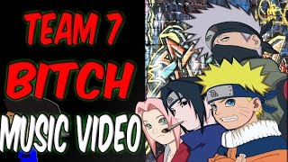 NARUTO RAP PARODY | TEAM 7 B#%CH ( MUSIC VIDEO ) | PROD. BY @BLASIANBEATS