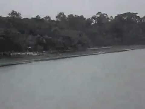 Famous Ramsagar Lake in Dinajpur, Bangladesh