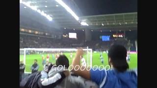 Penalty batido pelo Hulk - Super Dragões   @   FC Porto  (5-0)  SL Benfica  |  07-11-2010