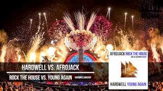 Rock The House vs. Young Again (Hardwell EDC Las Vegas 2016 Mashup) [Luigi Beltrán Edit]