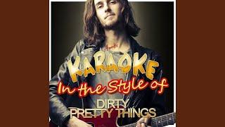 Wondering (In the Style of Dirty Pretty Things) (Karaoke Version)