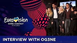 OG3NE about their song, Junior Eurovision and winning