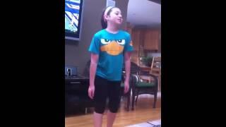 Ranya dancing to Original Don