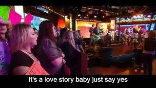 Taylor Swift Love Story Live 2008 with lyrics