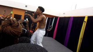 "Jacob Latimore Performing ''What are you waiting for"" & ""Nothing on me"""