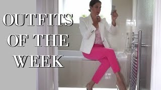My Week in Outfits  | Fashion for over 40's | Style | HIGH STREET FASHION