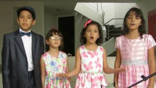 Telling the world about His love - Alabanza Perfecta Kids Vocal Quartet