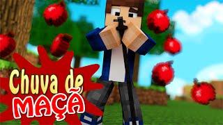 Minecraft Machinima: CHUVA DE MAÇÃ - Paródia Luan Santana